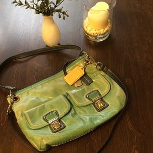 Coach Leather Convertible Bag
